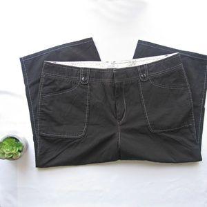 Dockers Black Favorite Fit Capri Pants 14  BASICS